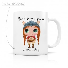 Mug personnalisable fille