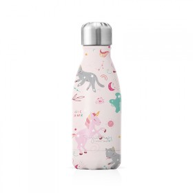 "Petite bouteille isotherme ""Licorne"" gourde"