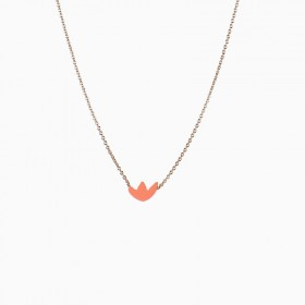 Collier Maple mandarine