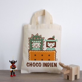 Mini-Sac «Choco-Indiens» by Atelier VUDO