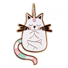 Pin's : Chat-Licorne