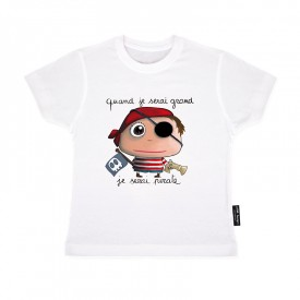 Tee-shirt  Pirate by Isabelle Kessedjian
