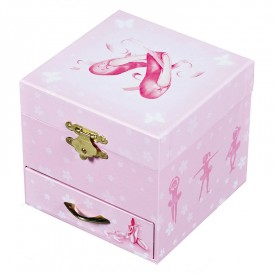 Coffret musical cube Chaussons ballerine by Trousselier