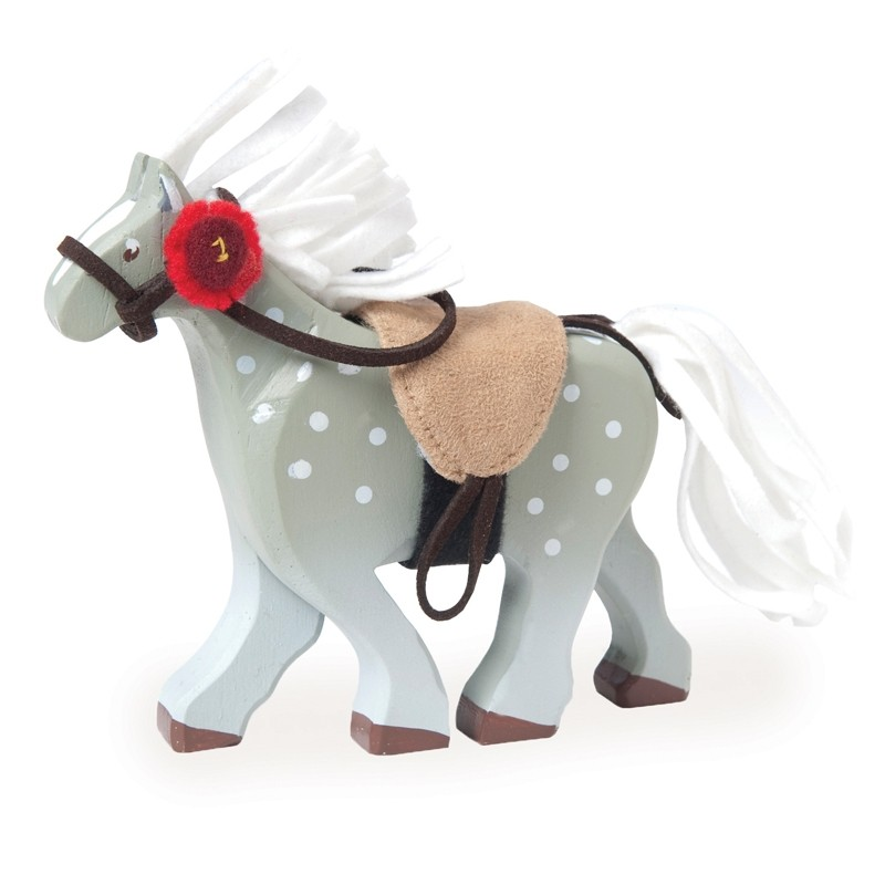 Cheval Gris avec Selle by Le toy van