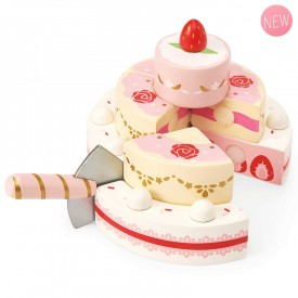 Wedding cake à la fraise by Le toy van