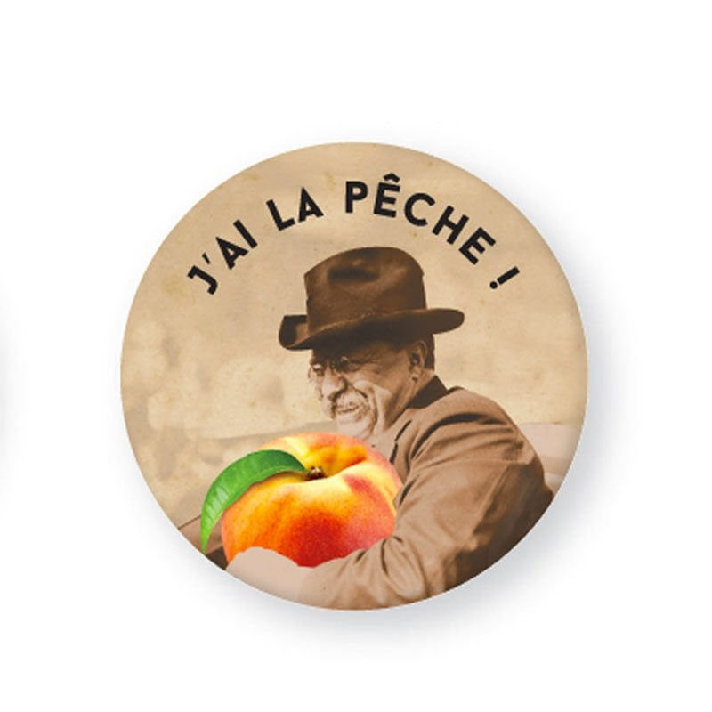 Badge «J'AI LA PÊCHE !» by Atelier VUDO