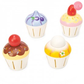 Cupcakes en bois by Le toy van