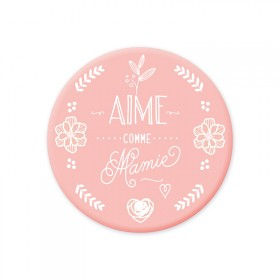 Magnet rose 'Aime comme Mamie'