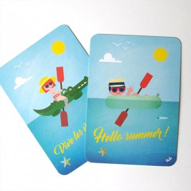 Lot cartes Eté by Atelier VUDO