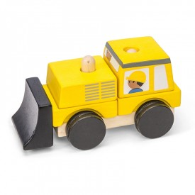 Bulldozer Empilable by Le toy van