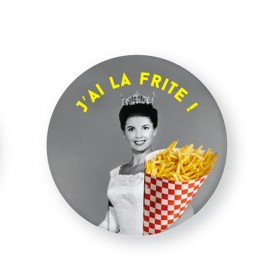 Badge «J'AI LA FRITE !» by Atelier VUDO
