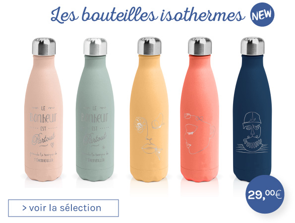 bouteille isotherme gourde